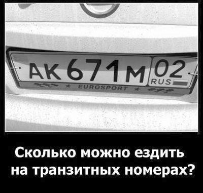 Сколько можно ездить на польских номерах в украине 2018