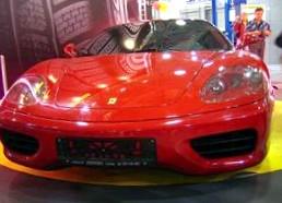 2396 уникальных шин Michelin для Феррари 599 GTO