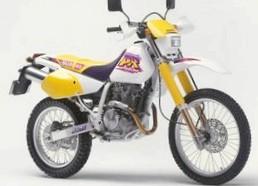 Suzuki DR250R Со вставными зубами